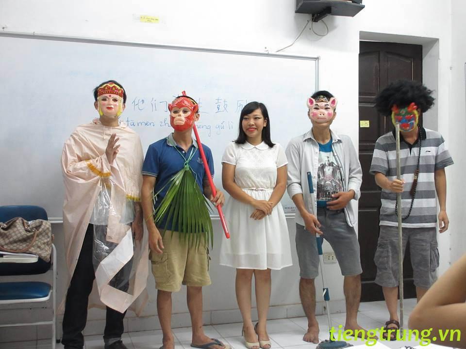 Học viên tiêu biểu tại trung tâm tiếng trung