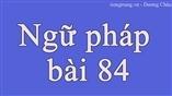 Ngữ pháp bài 84 - tiengtrung.vn