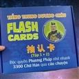 Flashcard Tiếng Trung: Phương pháp học trong thời đại mới