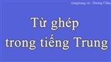 Từ ghép trong tiếng Trung